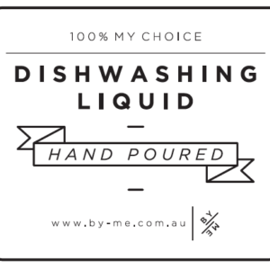 ByMe waterproof designer decal - DISHWASHING