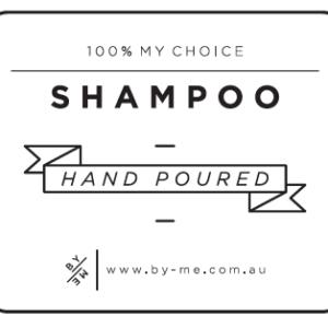ByMe small shampoo waterproof decal