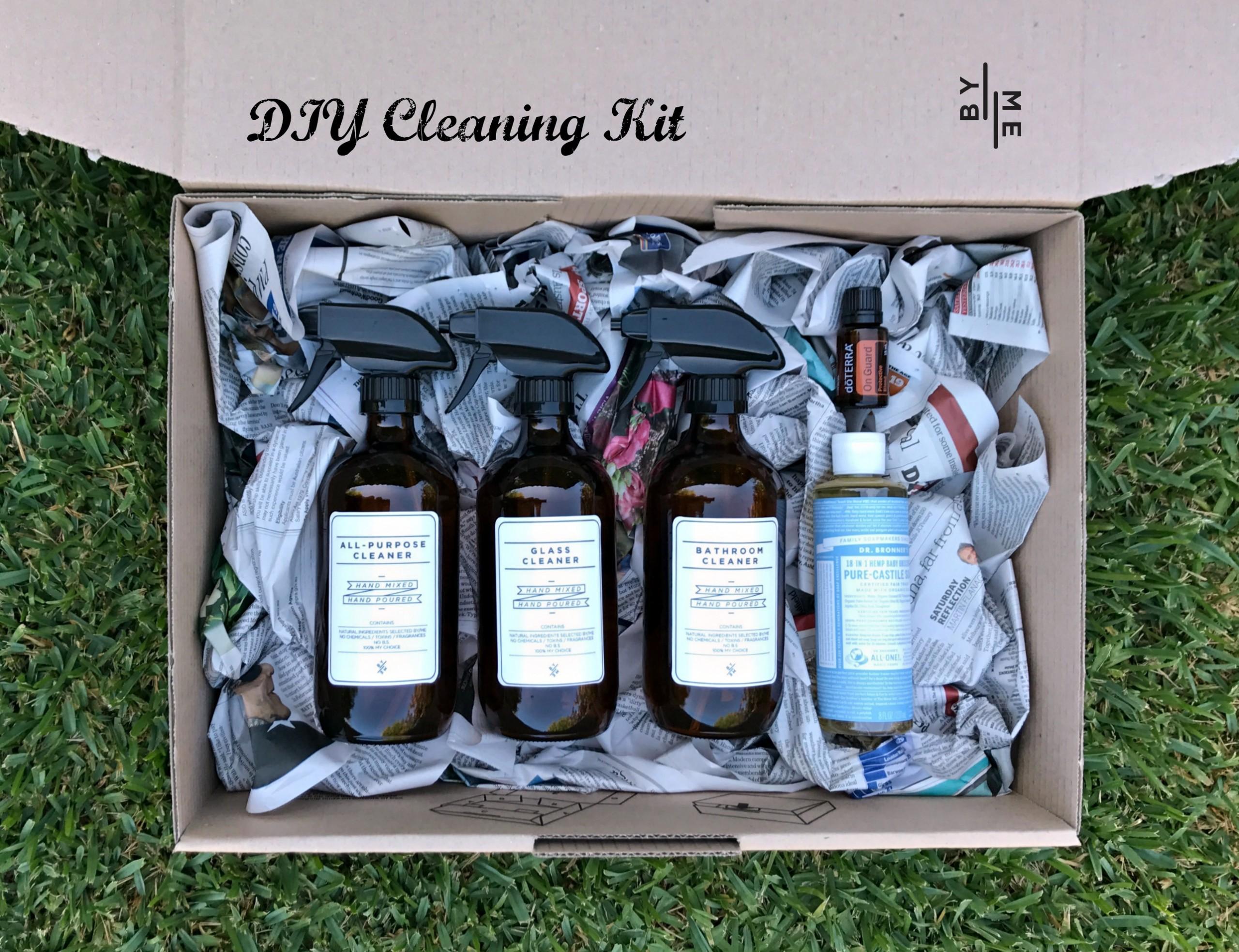 DIY cleaning Kit