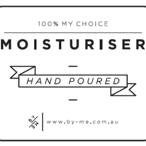 ByMe Moisturiser decal white