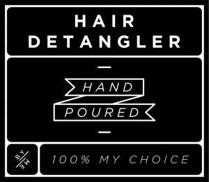 Mini Black Hair Detangler