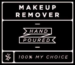 Mini Black Makeup Remover Decal