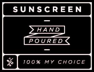 Mini Black Sunscreen Decal