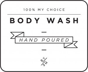 Mini White Body Wash Decal