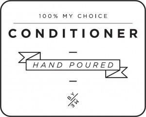 Mini White Conditioner Decal