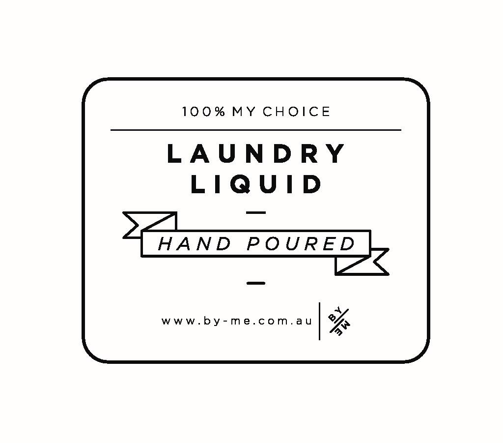 Laundry Liquid Label